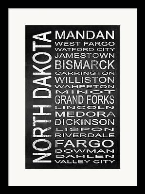North Fork Mixed Media Framed Prints