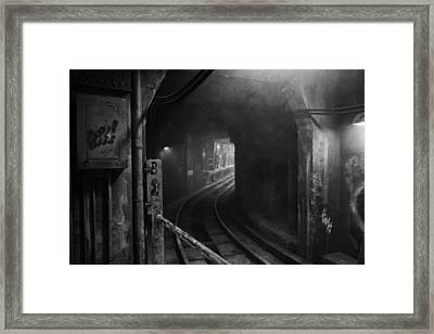 Subway Nyc Framed Print