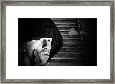 Subway Stairs Framed Print by Fizzy Image