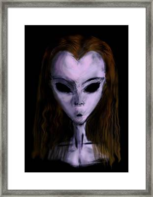 Succubus The Djinn Framed Print