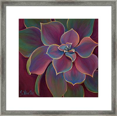 Succulent Delicacy Framed Print