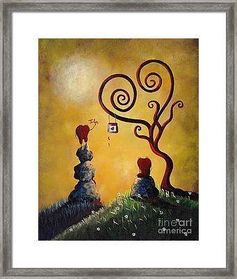 Such A Romantic By Shawna Erback Framed Print by Shawna Erback