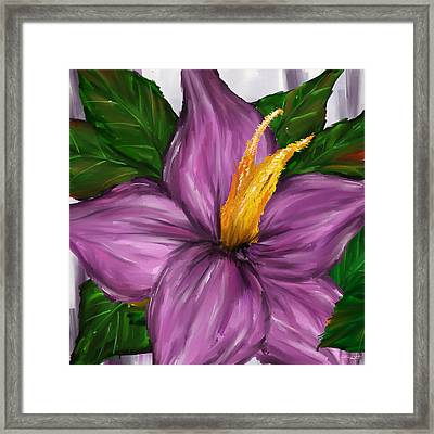 Such Beauty- Magnolia Paintings Framed Print