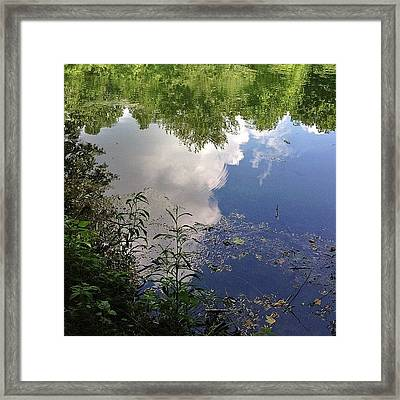 Such Beauty Resides In A Reflection Not Framed Print