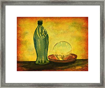 Such Is Life Framed Print by Leanne Seymour