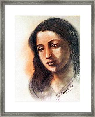 Suchitra Sen Framed Print