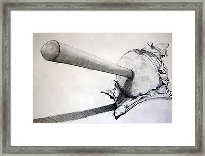Sucker Framed Print by Jame Hayes