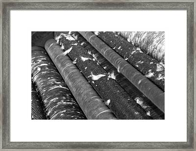 Sucre Hat Factory Rolls Framed Print by For Ninety One Days