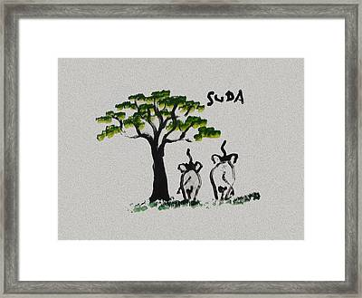 Suda Creations  Framed Print