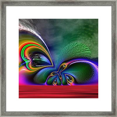 Sudden Awareness Framed Print by Wendy J St Christopher