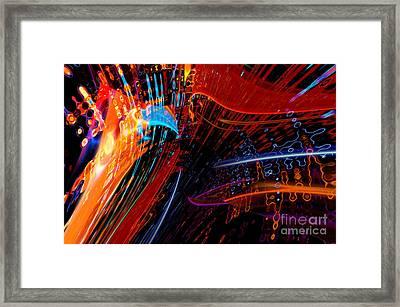 Sudden Celebration Framed Print