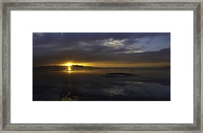 Sudden Glow Framed Print by Chad Dutson