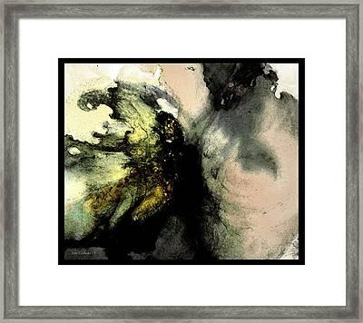 Sudden Impact Framed Print by Steve Godleski