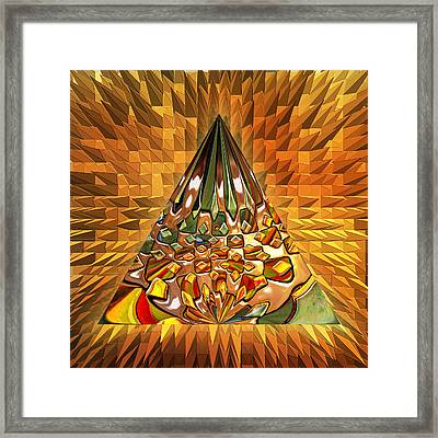 Sudden Impulse - Optimized For Metallic Paper Framed Print by Wendy J St Christopher