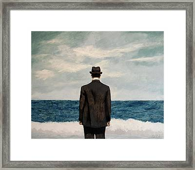 Suddenly Small Framed Print
