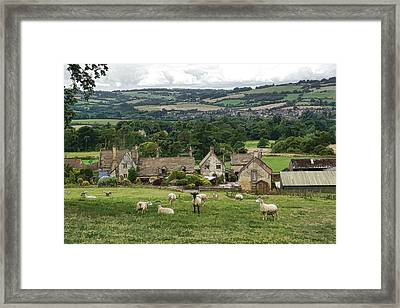 Sudeley Hill Farm Framed Print