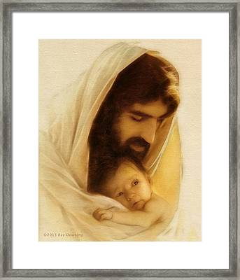 Suffer The Little Children Framed Print