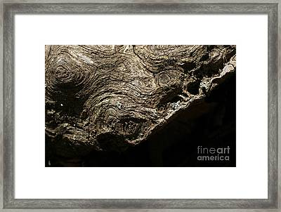 Suffer To The Edge Framed Print by Adam Long
