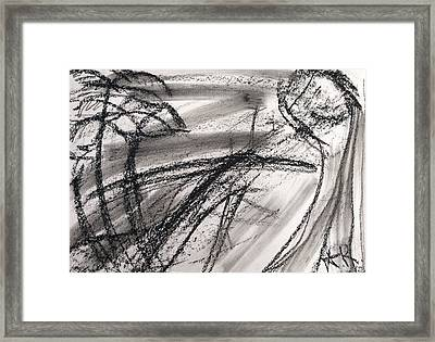 Suffering Framed Print by Arthur Right