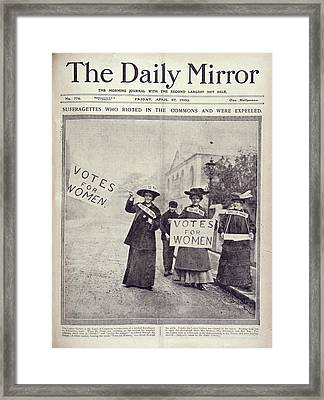 Suffragettes Framed Print by British Library