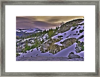 Sugar Bowl Hillside Framed Print