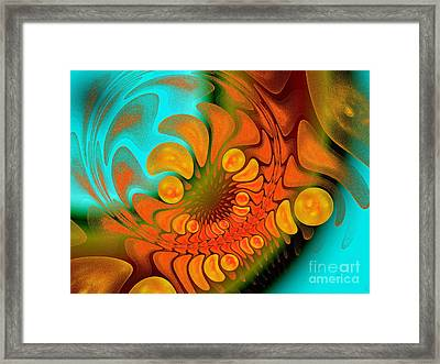 Sugar Coat It Framed Print by Andee Design