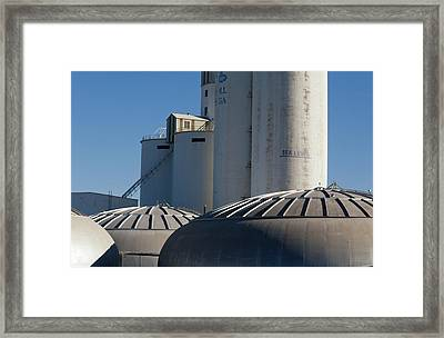 Sugar Factory Framed Print