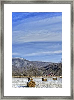 Sugar Frosted West Virginia Framed Print by Thomas R Fletcher