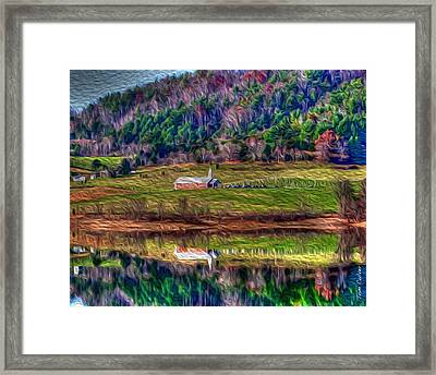 Sugar Grove Reflection Framed Print