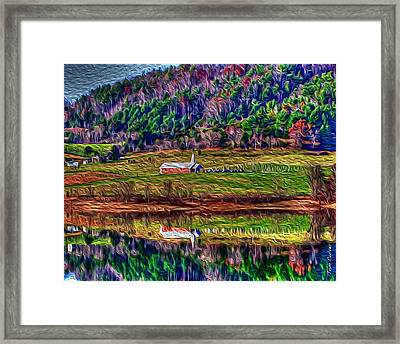 Sugar Grove Reflections 2 Framed Print
