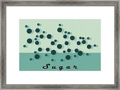 Sugar Framed Print by Kate Paulos