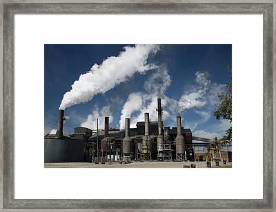 Sugar Mill Framed Print by Jim West