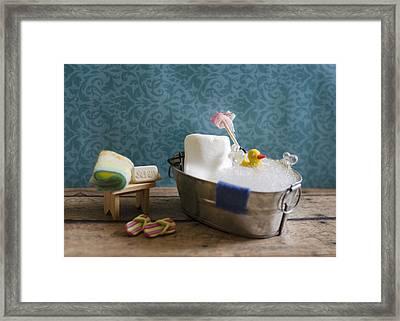 Sugar Scrub Framed Print by Heather Applegate