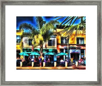 Sugar Shack Cafe Framed Print