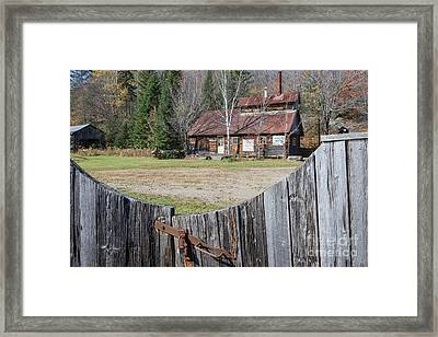 Sugar Shack Framed Print by Jola Martysz