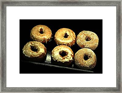 Sugared Or Glazed Framed Print by Diana Angstadt