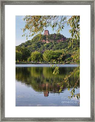 Sugarloaf In Spring Framed Print