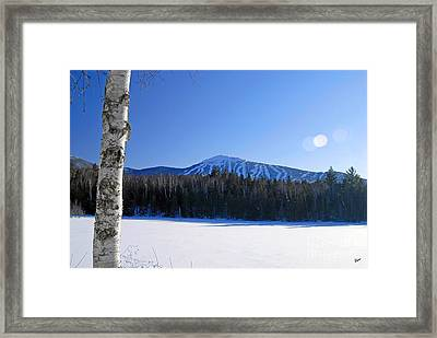Sugarloaf Usa Framed Print