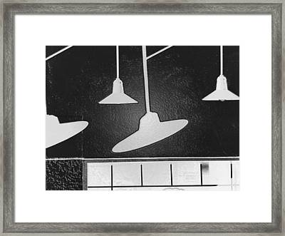 Suggestion Of The Band Framed Print by Lenore Senior