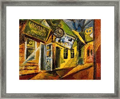 Suifan Market Framed Print by Jake Hartz