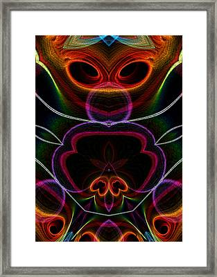Framed Print featuring the digital art Suile Ciallmhar by Owlspook