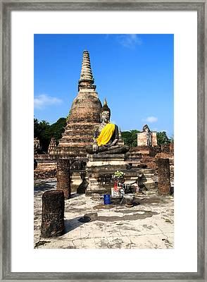 Sukhothai Historical Park Framed Print by Artur Bogacki