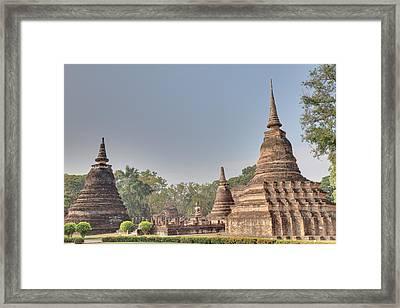 Sukhothai Historical Park - Sukhothai Thailand - 011339 Framed Print by DC Photographer