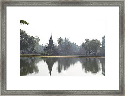 Sukhothai Historical Park - Sukhothai Thailand - 011366 Framed Print by DC Photographer