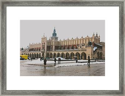 Sukiennice Framed Print by Pati Photography