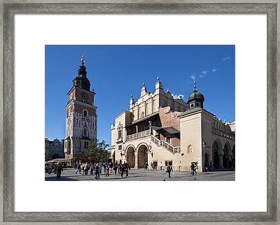 Sukiennice, The Renaisssance Cloth Hall Framed Print by Panoramic Images