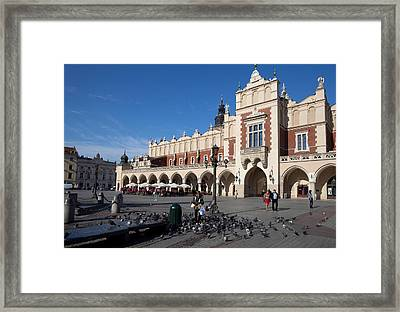 Sukiennice, The Renaisssance Cloth Framed Print by Panoramic Images