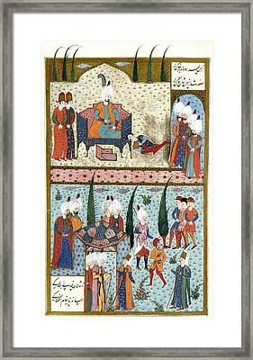 Suleiman The Magnificent (c1494-1566) Framed Print by Granger