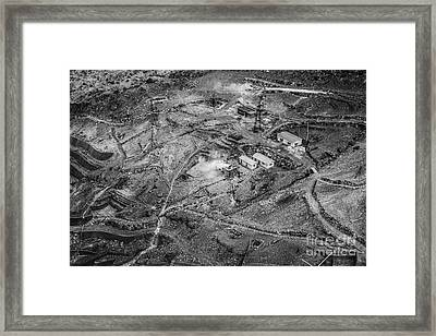 Sulfuric Framed Print by Dean Harte