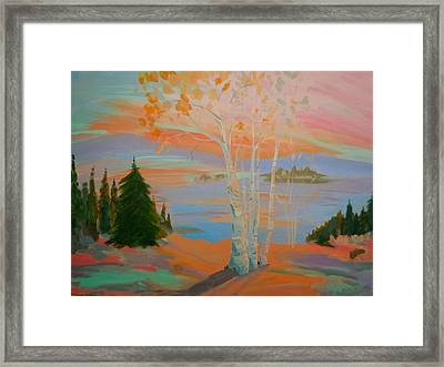 Sullivan Sunset Framed Print
